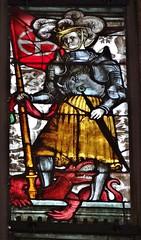 1514 - 'Emperor's Window' (Veit Hirschvogel and workshop, design by Hans von Kulmbach and maybe Albrecht Drer), Nrnberg, Sebalduskirche, Nrnberg, Bayern, Germany (roelipilami) Tags: window glass saint st de bayern bavaria george fenster von hans kirche sint fair stained le jorge vitrail crown kaiser franken bel armour glise philip kerk joris raam nrnberg sankt vitral kroon sebald georg maximilian drer filips armure albrecht rstung emperors schone harnas koning kulmbach veit glasinloodraam 1514 glasfenster harnisch hirschvogel nurember sebaldus glasgemlde hirsvogel maximiliansfenster