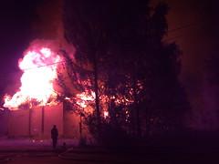 Kuva068 (3) (SSBBSBSSBSBS) Tags: house fire big smoke flames burning burn inferno