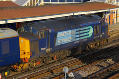37688, Fratton, November 29th 2014 (Southsea_Matt) Tags: drs class37 37688 directrailservices pathfindertours thefestiveportsmouthexplorer