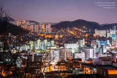 Gwanak Sunrise (Daniel Smukalla) Tags: city urban timelapse twilight apartments korea seoul southkorea gwanakgu dslt sonya99