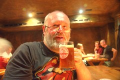 """Cheers (Tony Shertila) Tags: city blue portrait sky church beer weather architecture night germany deutschland pub europe cathedral drink ale bremen rathaus hdr brewhouse resaurant selfie hall"""" """"town """"partial alamannia schuttinger cloudy"""""""