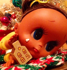 Broken Home. (Brentments) Tags: holiday eye home broken girl japan vintage hope big eyes mod 60s doll december moody sad fierce sweet adorable kitsch stomach drop rubber retro plastic indoors depression 70s 1970 therapy kitschy tear teardrop dolly lying 1960 on 2014 overcoming belongingness unlnown