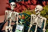 George and Friends (EmperorNorton47) Tags: autumn arizona fall statue digital skeleton photo afternoon sedona publicart