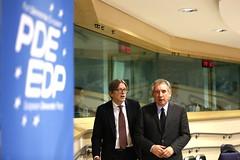 Guy Verhofstadt & Franois Bayrou (PDE-EDP) Tags: guy logo fb verhofstadt bayrou