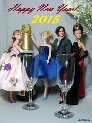 Happy New Year Flickr Friends! (doll4life14) Tags: new hair mod doll year goddess ken barbie ponytail mattel midge repro 2015
