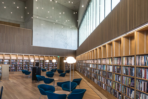 New Public Library In Dun Laoghaire, Officially Called DLR Lexicon Opened To The Public Today And It Is Worth Visiting Ref-100545