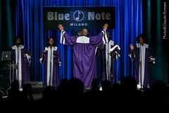 Justin Blair & The Soulful Gospel Singers @ Blue Note Milano 09-12-2014 (Bluenotemilano) Tags: christmas church singers claudio gospel romani hrlem justinblair blunote bluenotemilano thesoulfulgospelsingers 09122014