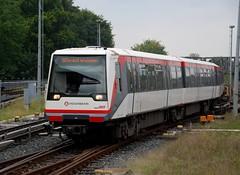 Hamburg, Barmbek 28.09.2012 (The STB) Tags: underground subway metro hamburg ubahn hha barmbek dt4 hamburgerhochbahn doppeltriebwagen4