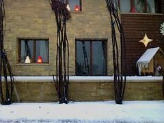 Stille Nacht, Heilige Nacht (Gilbert-Nol Sfeir Mont-Liban) Tags: christmas schnee winter mountain snow berg rain fog montagne weihnachten nebel hiver pluie neve neige nol nebbia inverno natale pioggia montagna brouillard regen liban mountlebanon montliban kesserwan