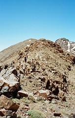 Near Tizi N'Taddale pass, High Atlas, Morocco (Miche & Jon Rousell) Tags: africa mountains trekking trek northafrica morocco fields refuge highatlas toubkel tizioussem tazagharterefuge
