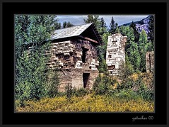 Marble CO 2000 (the Gallopping Geezer 3.5 million + views....) Tags: building abandoned canon construction colorado mine 2000 decay roadtrip structure mining faded worn ghosttown marble leftover quarry decayed geezer slab corel
