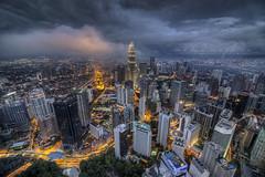 City Center of Kuala Lumpur, Malaysia