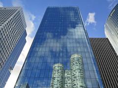 urban geometry (poludziber1) Tags: street city blue sky paris france skyline clouds capital challengegamewinner