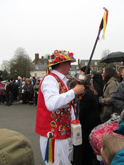 Boxing Day tradition (pefkosmad) Tags: uk england people music men costume women dancers dancing cathedral folk traditional performance boxingday gloucestershire entertainment gloucester noon morris tradition mummers gloucestercathedral dances ststephensday