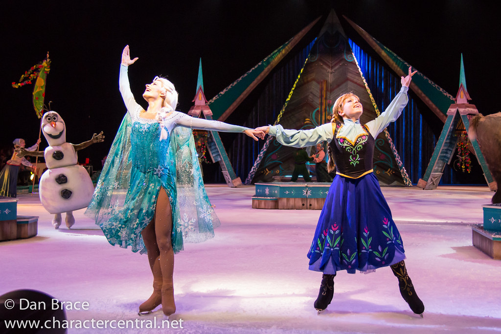 Disney On Ice Frozen At Disney Character Central