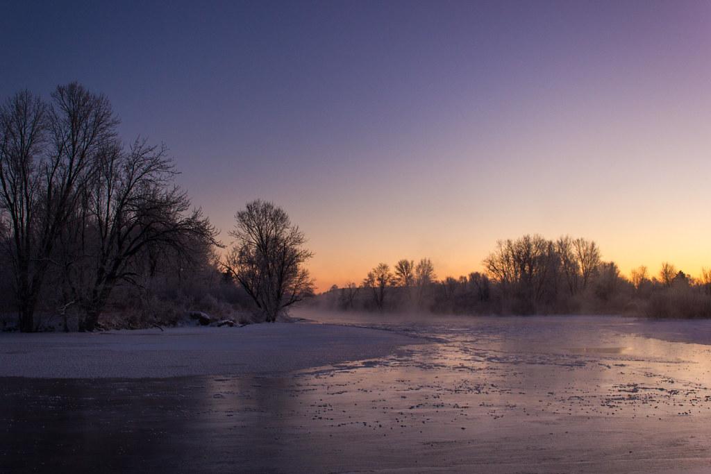 Aube glaciale - Frozen Dawn