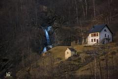 SERENITA' (Lace1952) Tags: alberi case campagna svizzera montagna ch cascata torrente gondo faggi serenita betulle nikkor18300vr nikond7100