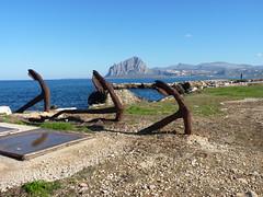 Monte Cofano (Pietro Testaiuti) Tags: panorama mare cofano monte trapani bonagia riserva tonnara ancore