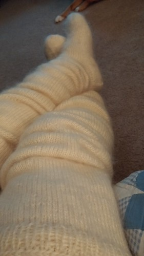 Long time fetish slouch sock confirm. All above