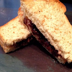 "Homemade bread is a game changer when it comes to the grilled cheese sandwich. This beauty filled with smoked cheddar and our caramelized onion and red wine jam was a delicious lunchtime treat!  #food #wine #bread • <a style=""font-size:0.8em;"" href=""http://www.flickr.com/photos/54958436@N05/16254128791/"" target=""_blank"">View on Flickr</a>"