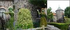 FROZEN IN TOPIARY AND THEIR CASTLE (Visual Images1) Tags: frozen epcot diptych topiary 6ws disney