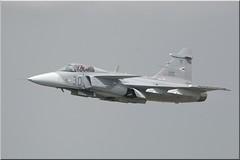 "Saab JAS-39C, 1VS ""Puma"", HunAF, RIAT2009 (OlivierBo35) Tags: tatoo fairford riat"