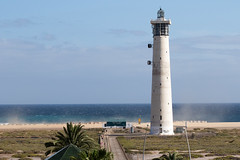 Blustery El Mattoral Beach -1339 (davets26) Tags: lighthouse morro jandia jable fuertaventuramay2016