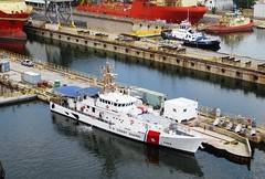 USCGC 1102- Richard Etheridge (Hear and Their) Tags: tampa coast ship florida united guard states tug ybor channel uscg