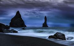 """Vik"" Iceland (Pepelahuerta) Tags: iceland vik playas acantilados canon6d paisjes ultraangulares pepelahuerta rynissfjall"