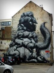 wat een bende . (roberke) Tags: art wall graffiti artwork belgium artistic outdoor kunst oostende flanders muur kunstwerk muurschildering groot