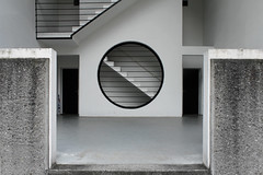 IMG_3083 (trevor.patt) Tags: architecture ticino housing bellinzona residential ch postmodernist galfetti