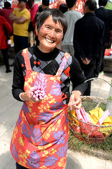 Happy face (MelindaChan ^..^) Tags: life china people village chinese culture mel tradition melinda jiangsu   chanmelmel
