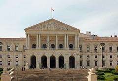 L'Assemble Nationale (hans pohl) Tags: portugal architecture buildings steps monuments lisbonne escaliers colonnes btiments