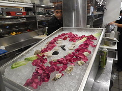 rose  petals and oysters (hansntareen) Tags: red ice coffee petals cafe italian wine cappuccino pastries