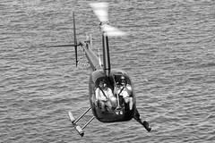 CFR1120-bn  Robinson R44 Raven EC-HTQ (Carlos F1) Tags: nikon d300 lepb helipuerto heliport transporte transport aviación aviation helicoptero helicopter spotter spotting echtq robinson r44 raven black white blanco negro bn bw barcelona spain rotorcraft