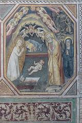 santa maria novella florence 35 (Walwyn) Tags: italy church joseph florence virginmary stable fresco nativity