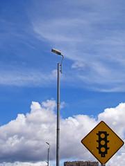 No. 1110 - 22 de mayo/16 (s_manrique) Tags: postes cielo nubes