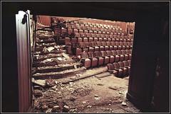 Victory 2016 - 08 (derekwatt) Tags: abandoned analog 35mm nikon theater massachusetts holyoke analogphotography 35mmphotography nikonf4 c41 unicolor kodakektar victorytheater ektar100