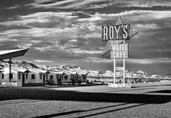ROY'S Cafe and Motel (Sky Noir) Tags: california southwest sign cafe desert motel americana roadside roys amboy