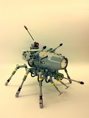 Banisher RX (SuperHardcoreDave) Tags: war lego attack weapon future scifi vehicle mecha mech moc drone