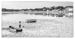 L1080347am (robert.french57) Tags: leica people net robert water june french boats fishing tide bob dorset q sandbanks poole 57