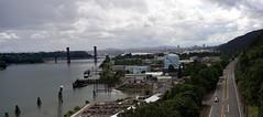 from St Johns Bridge 2 (Franklyn W) Tags: oregon portland pacificnorthwest pdx pnw willametteriver northportland stjohnsbridge twitter tumblr