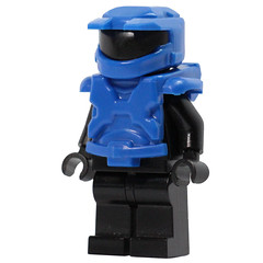 Mark 5 Armor Set - Blue (X39BrickCustoms .com) Tags: lego brick mark 5 new armor halo space marine x39brickcustoms brickarms legos production red vs blue minifigures minifigs