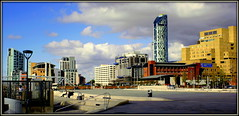 Facing North (* RICHARD M (Over 5 million views)) Tags: panorama liverpool buildings cityscape pano workinprogress panoramic streetfurniture ports modernarchitecture pierhead scapes townplanning merseyside mishmash revamped capitalofculture seaports europeancapitalofculture revamping unescocityofmusic unescomaritimemercantilecity