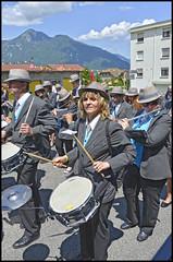 Harmonie Municipale de Marnaz (wilphid) Tags: musique dfil hautesavoie musiciens harmonie cuivres faucigny marnaz