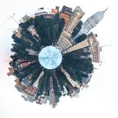 Planet Madison (m2 Photo) Tags: madison panoramic spherical planet edgewater