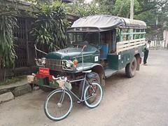 Myanmar, Yangon Region, Northern District, Kamaryut Township, Baho Road (Die Welt, wie ich sie vorfand) Tags: bicycle truck cycling yangon burma dodge myanmar trucks steamroller surly rangoon powerwagon yangoncity northerndistrict bahoroad yangonregion kamaryut kamayuttownship kamaryuttownship
