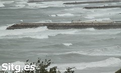"""Sitges Bay Storm • <a style=""""font-size:0.8em;"""" href=""""http://www.flickr.com/photos/90259526@N06/15523216090/"""" target=""""_blank"""">View on Flickr</a>"""