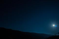 Night sky (emanuel_hochoertler) Tags: blue sky moon mountains night canon stars photography eos mond photo long exposure nacht himmel berge blau starry sterne langzeitbelichtung 2014 700d 2k14