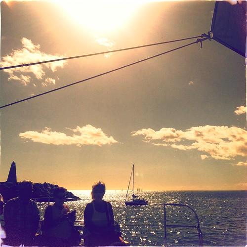 vacation sky holiday silhouette clouds seaside spain sailing yacht costadelsol benalmadena lucaslens dixiefilm